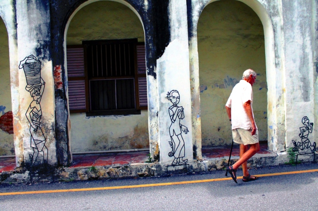 street murals of George Town