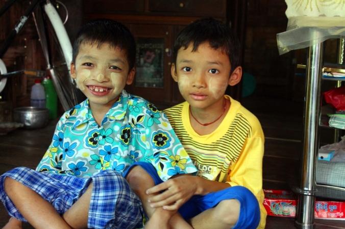 The children of Myanmar