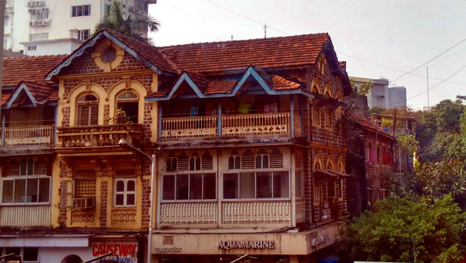 An old house in colaba causeway