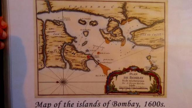 Bombay when it was a bunch of islands