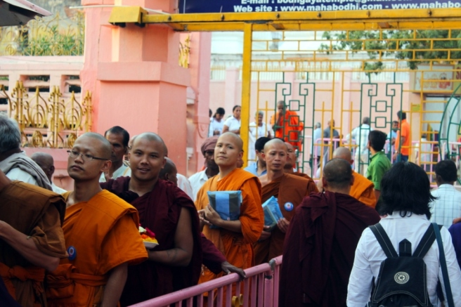 13. Monks - Bodh Gaya