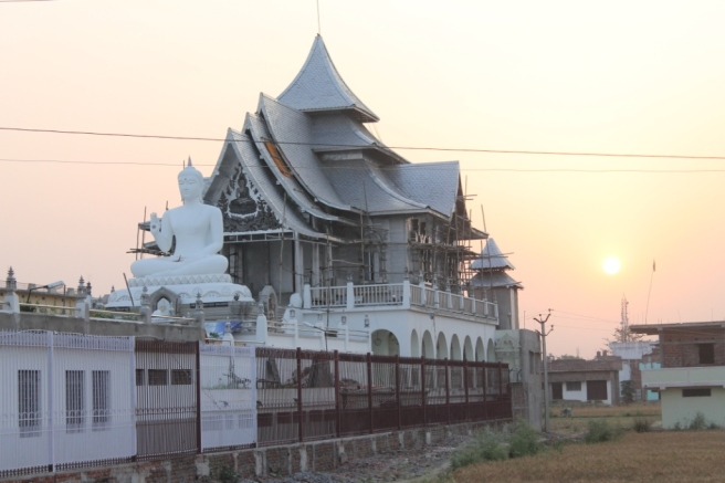 19. Sunset in Bodhgaya